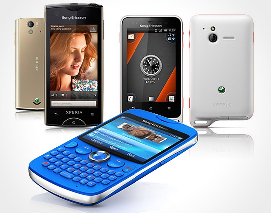 Sony Ericsson Xperia ray, active and txt 544x428px
