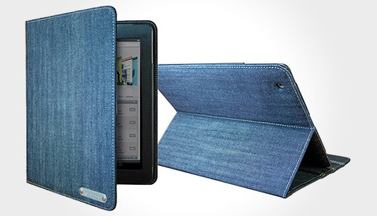 Texas Blade iPad Leather Carrying Case 544x311px