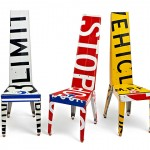 Transit – used traffic signs turned into gorgeous furniture