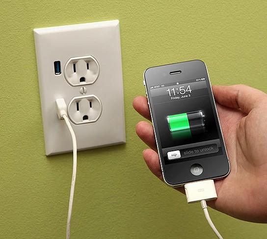 U-Socket USB Wallplug 544x488px