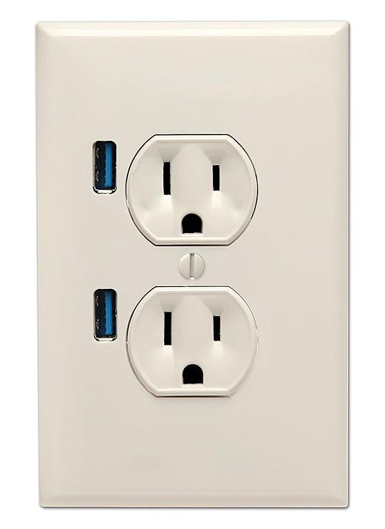U-Socket USB Wallplug 544x747px