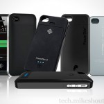 five lovely juice pack that adds more usage time for iPhone 4