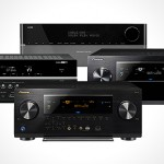 four Audio-Video receivers announced over the last two weeks