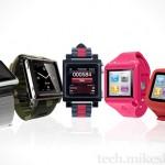five awesome iPod Nano watch conversion kits