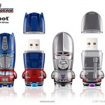 the Transformers x MIMOBOT Designer USB Flash Drives