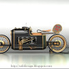 ARX-4 Steampunk concept motorcycle 900x600px