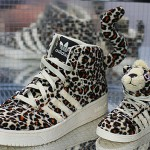 Adidas Originals by Originals Jeremy Scott Leopard Sneakers