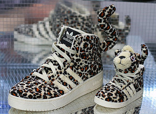 Adidas Originals by Originals Jeremy Scott Leopard Sneakers 544x398px