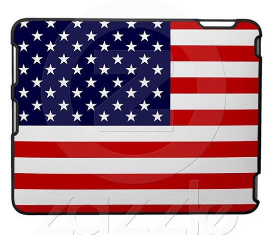 American Flag iPad Case 544x468px