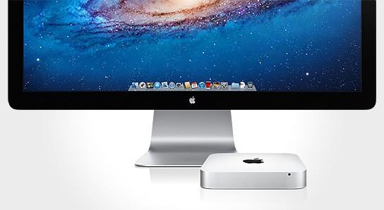 Apple Mac Mini with Thunderbolt technology 544x298px