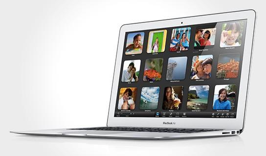 Apple MacBook Air with Thunderbolt technology 544x320px