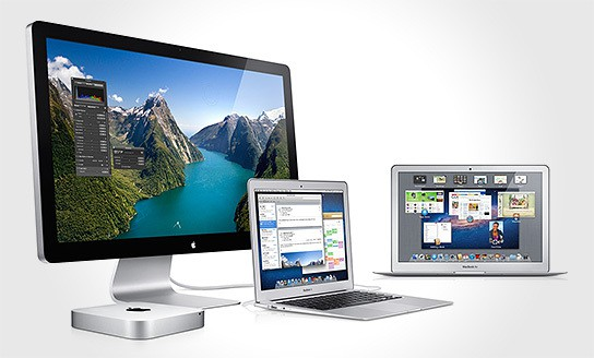 Apple Thunderbolt-equipped Products 544x328px