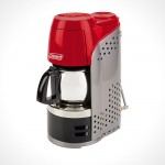 Coleman Portable Propane Coffeemaker, makes coffee on the go