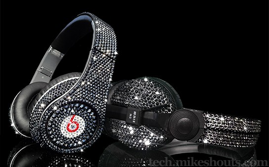 Crystal Rocked Crystallized Headphones 544x338px