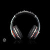 Crystal Rocked Dr Dre Beats Studio Headphones Swarovski Jet Hematite 600x600px