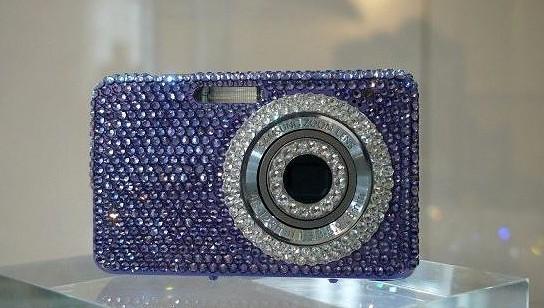 Crystal Rocked Samsung Digital Cameras 544x308px