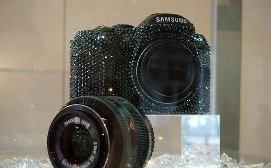 Crystal Rocked Samsung Digital Cameras 544x338px