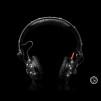 Crystal Rocked Sennheiser HD25-1 II Headphones Black Edition 600x600px