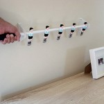Football Men on Coat Rack – Foosball turned coat hanger