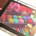 Fujitsu demoed the next generation color e-Paper