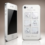 Gresso  iPhone 4 Lady Blanche is of diamonds and crystals