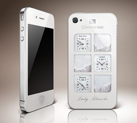 Gresso iPhone 4 Lady Blanche 544x488px