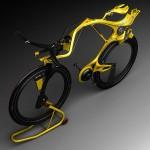 INgSOC concept hybrid bike – alien bike on the face of earth