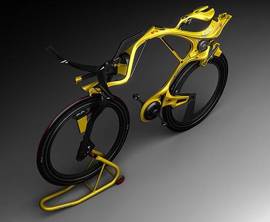 INgSOC concept hybrid bike 544x448px