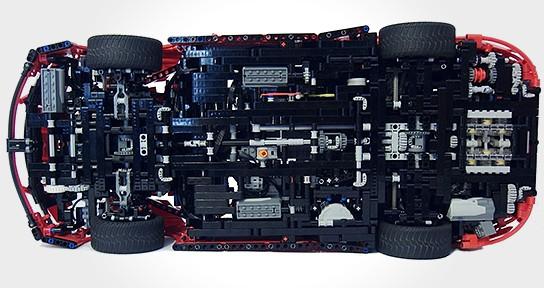 LEGO Porsche 911 Turbo Cabriolet PDK 544x288px
