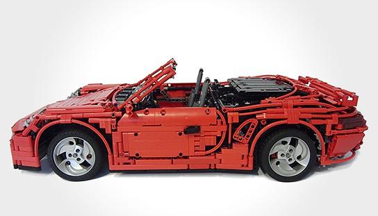 LEGO Porsche 911 Turbo Cabriolet PDK 544x311px