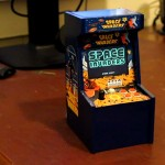 GBA-based miniature Space Invaders Arcade Cabinet