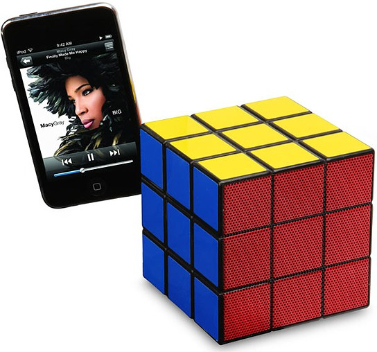Rubik's Cube Speaker 544x508px