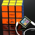 Rubik's Cube Speaker is one cube that you can't turn
