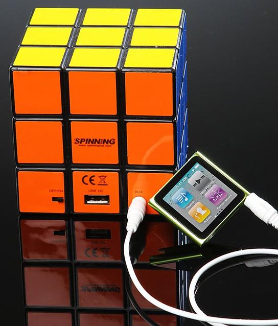 Rubik's Cube Speaker 544x638px