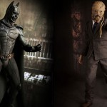 Sideshow Collectibles Demon Batman and Scarecrow Figures