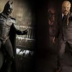 Sideshow Collectibles Demon Batman and Scarecrow Figures