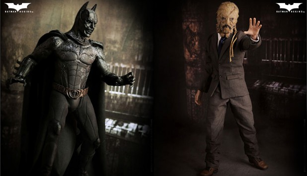 Sideshow Collectibles Demon Batman and Scarecrow Figures 800x460px