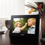 Sony introduces new HD series S-Frame Digital Photo Frames