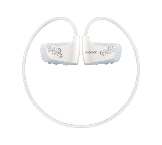 Sony W260 Walkman - white 544x488px