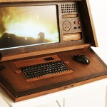 Love Hulten's Sputnik 0667 PC case mod – retro sci-fi at its best