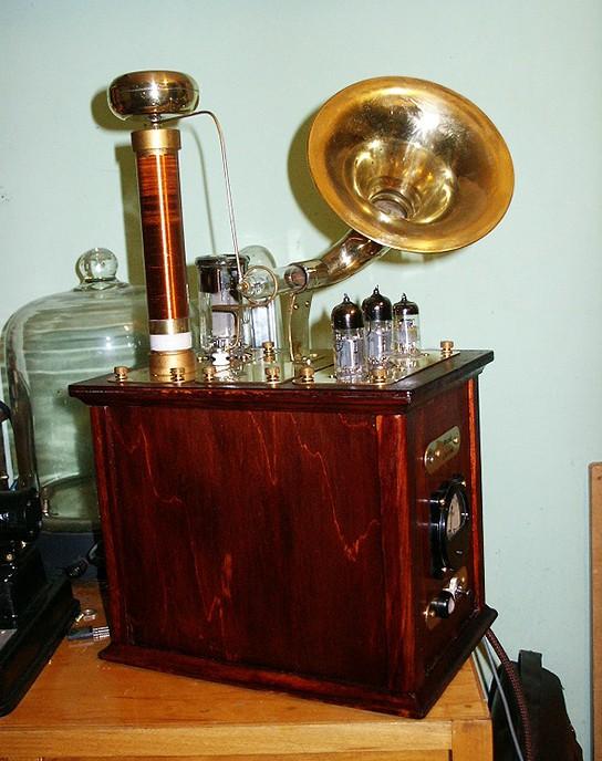 Steampunk Plasma Speaker 544x688px