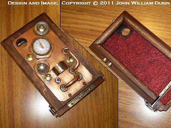 The iCog Dione V.1B Boilerplate Steampunk iPhone 4 case 544x408px