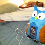Swoop The Owl lets you get comfy with your iPhone, on bed