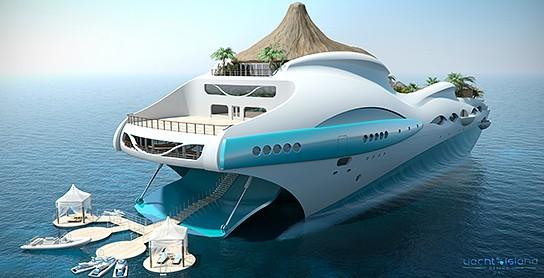 Tropical Island Paradise Superyacht 544x278px