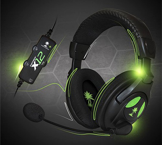 Turtle Beach Ear Force X12 Gaming Headset 544x488px