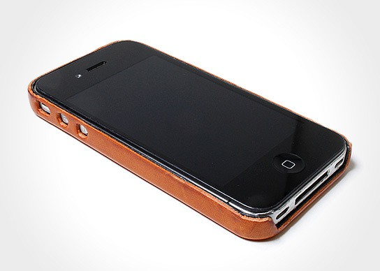 hobo full grain leather iPhone 4 case 544x388px
