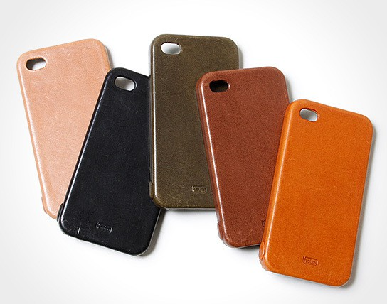 hobo full grain leather iPhone 4 case 544x428px