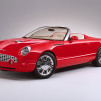 2001 Ford Thunderbird Sports Roadster Concept Car 900x600px