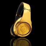 24-carat Gold Plated Dr. Dre Beats Studio Headphones