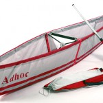Adhoc – a folding canoe that you can pack it up for a hike